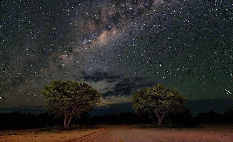 آموزش ساده جهتیابی با ستارگان در شب