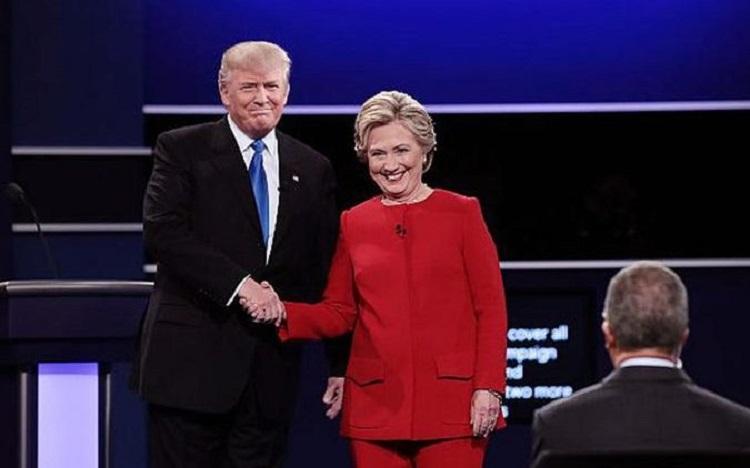 هیلاری کلینتون در مناظره اول ترامپ را شکست داد
