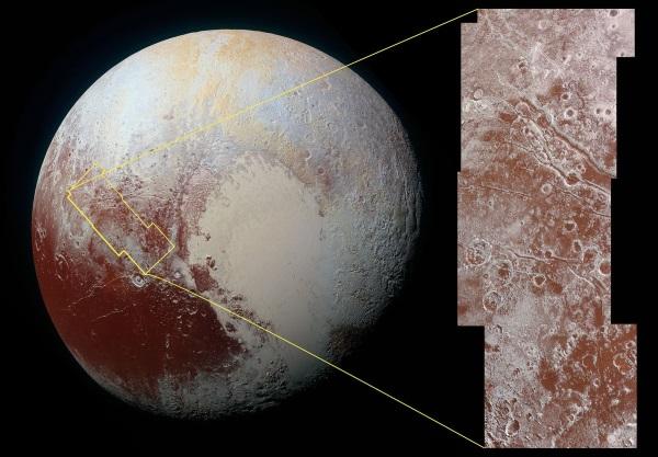 تصاویر تازه ناسا از پلوتو منتشر شد