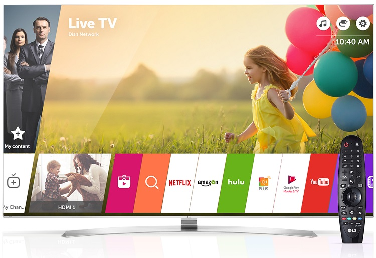از این پس تلویزیونهای هوشمند الجی، قابلیت پرداخت آنلاین خواهند داشت