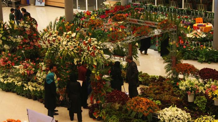 نمایشگاه و کارناوال گل های پاییزی در تهران