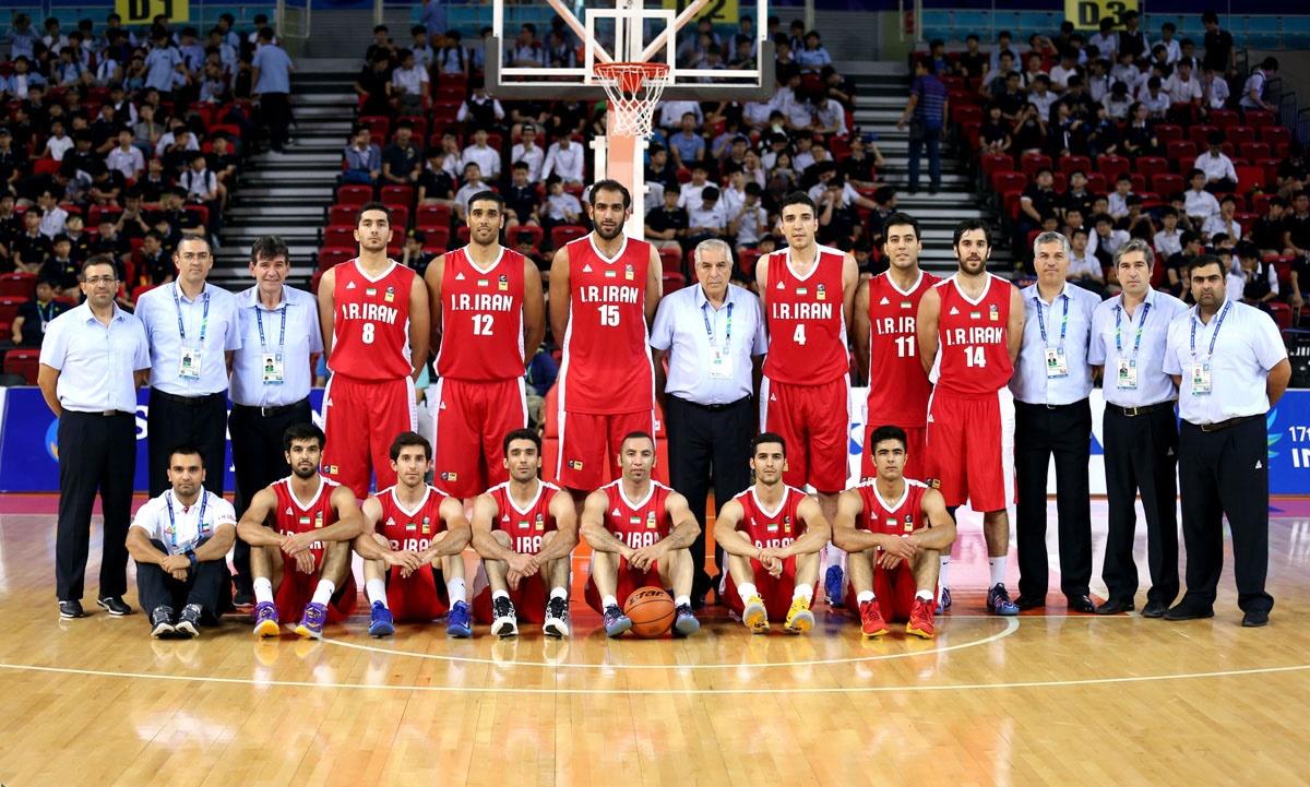 پیروزی مقتدرانه بسکتبال ایران برابر ژاپن
