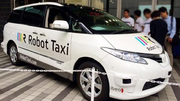 رونمایی از تاکسی بدون راننده!