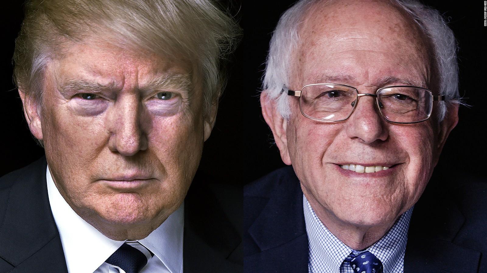 مراحل آخر انتخابات مقدماتی ریاستجمهوری آمریکا/پیروزی بیامید سندرز و تثبیت موقعیت ترامپ