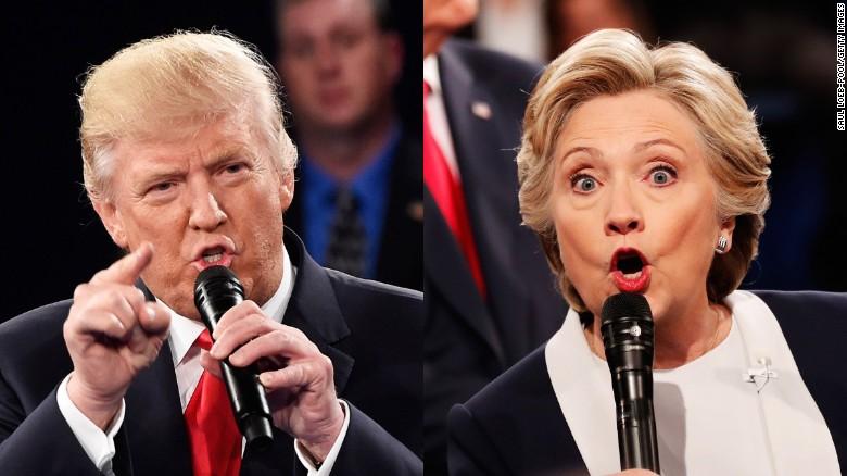 دومین مناظره انتخابات ریاست جمهوری آمریکا برگزار شد