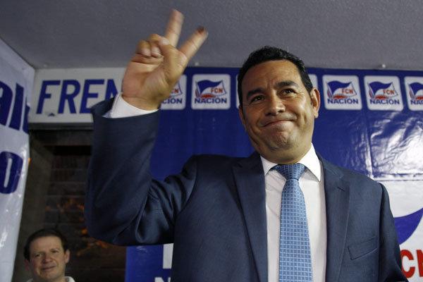 یک کمدین رئیس جمهور گواتمالا می شود؟