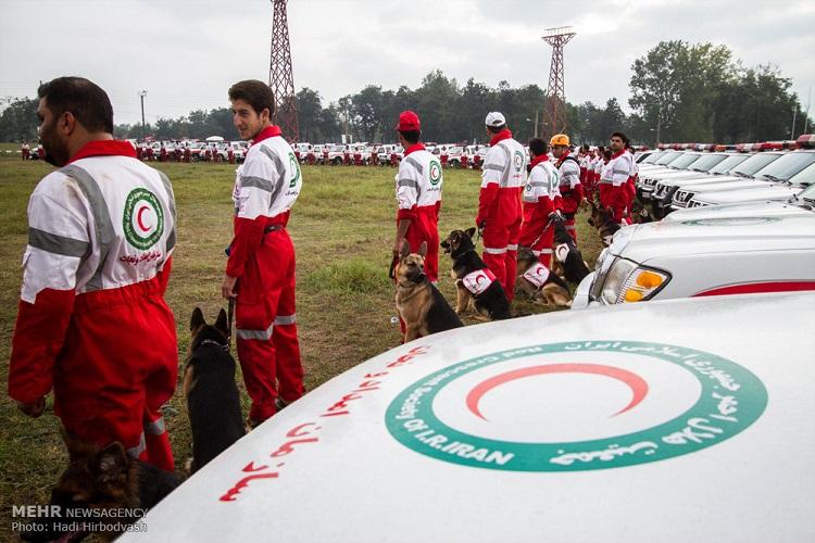 سازمان هلال احمر درپی آموزش گسترده سگ های نجات