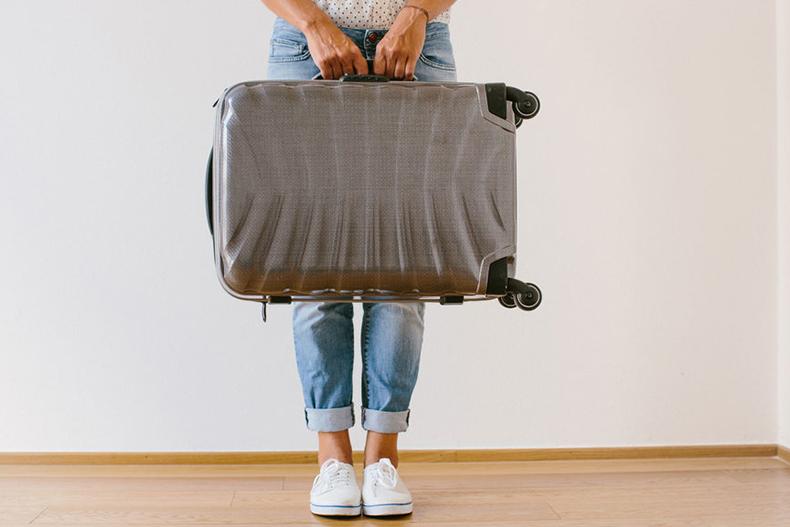 راهکارهایی برای سبک کردن چمدان