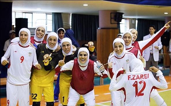 دختران ایرانی تیتر یک آسیا شدند