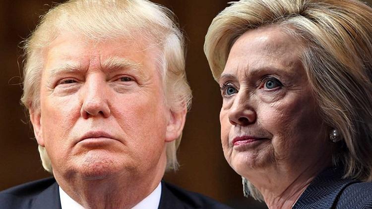 رقبای نهایی مشخص شدند، کلینتون در مقابل ترامپ