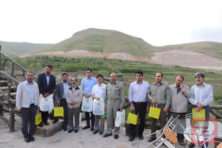 ال جی به مناسبت روز جهانی محیط زیست بستر رودخانه کندوان را تمیز کرد