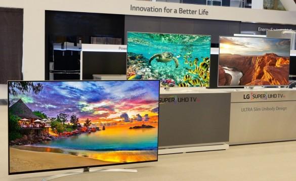 تلویزیونهای جدید SuperUHD الجی در CES 2016  رونمایی میشوند