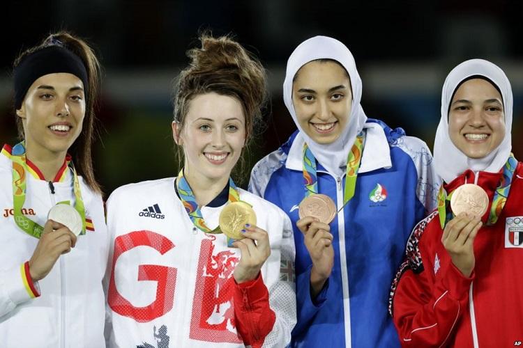 صعود کیمیا علیزاده به جمع 10 تکواندوکار برتر وزن 57- کیلوگرم زنان