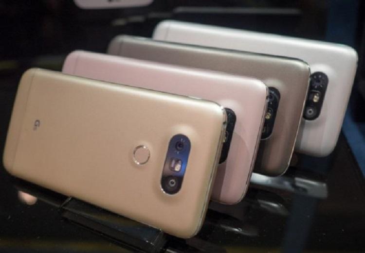 الجی G5 با چهار رنگ زیبا و شیک در راه است