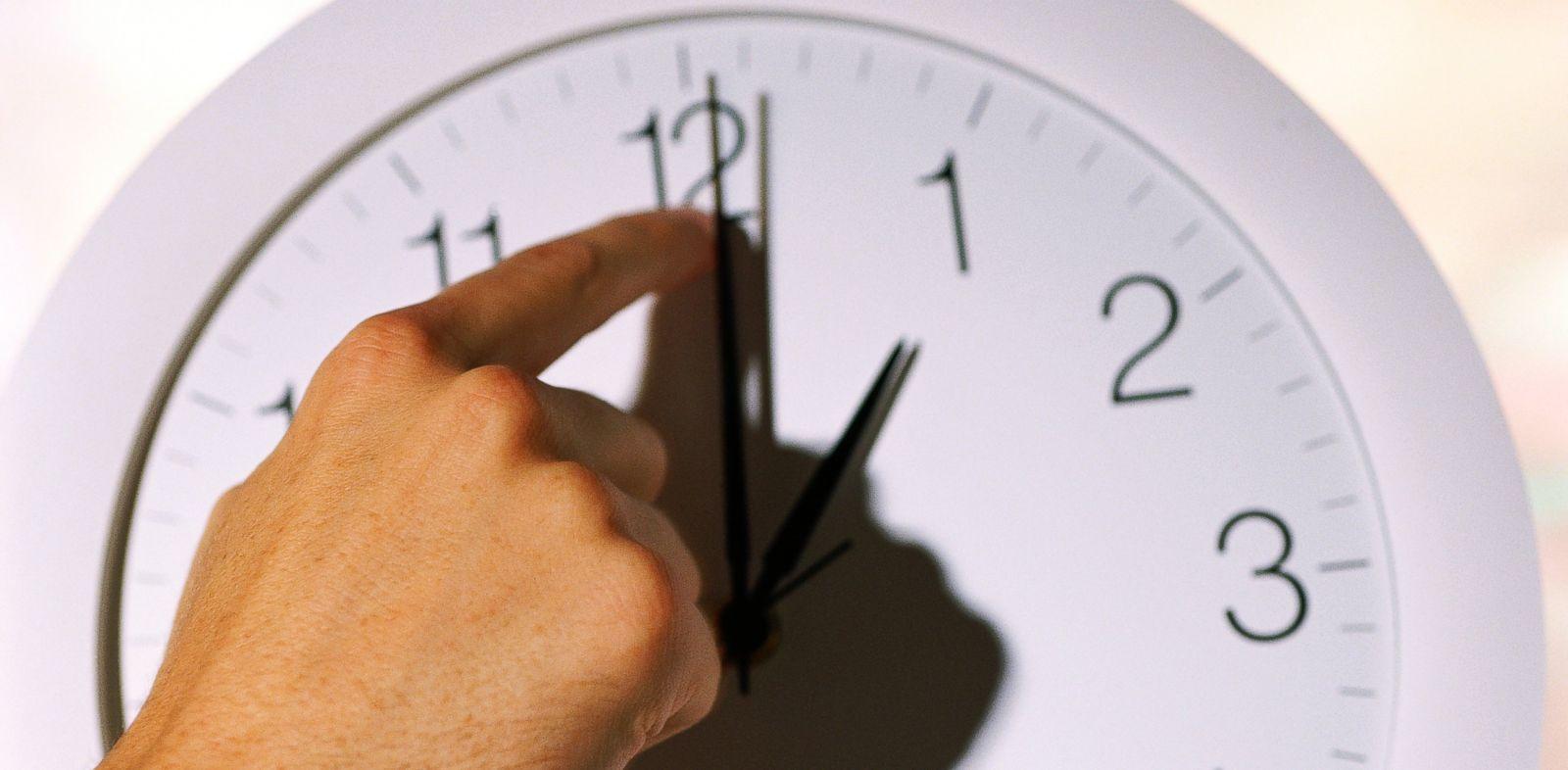 امشب ، تغییر ساعت رسمی کشور