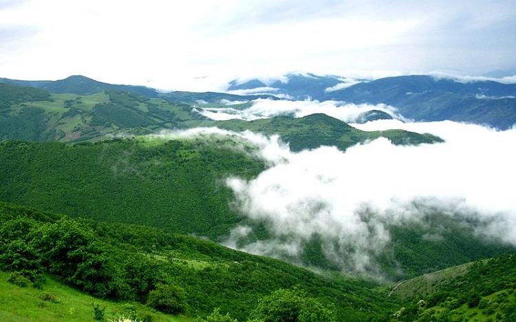 شهرستان زیبای اهر در قلب جنگلهای ارسباران