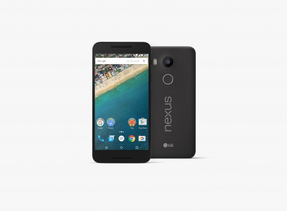 محصول مشترک ال جی و گوگل:Nexus 5X