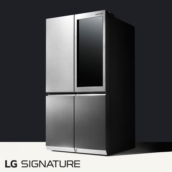 مروری بر حضور یخچال LG SIGNATURE در CES 2016
