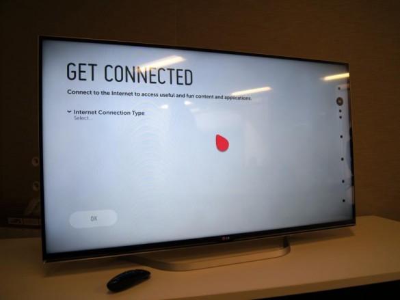 سفر به اینترنت با تلویزیون هوشمند ال جی