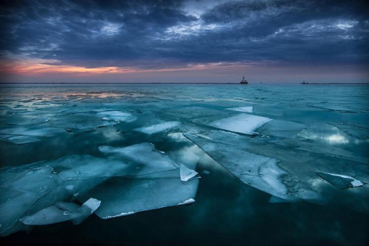 10 دریاچه یخی زیبا