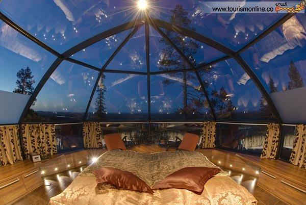 چشم انداز بی نظیر این اتاق ها را ببینید (عکس)