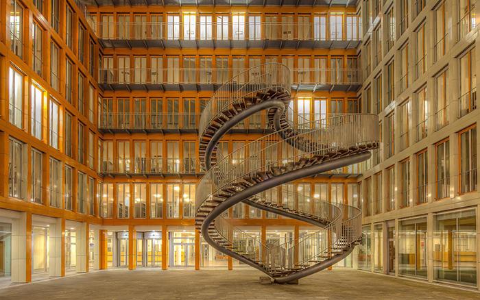 تصاویری از پلکانهایی مدرن و لوکس