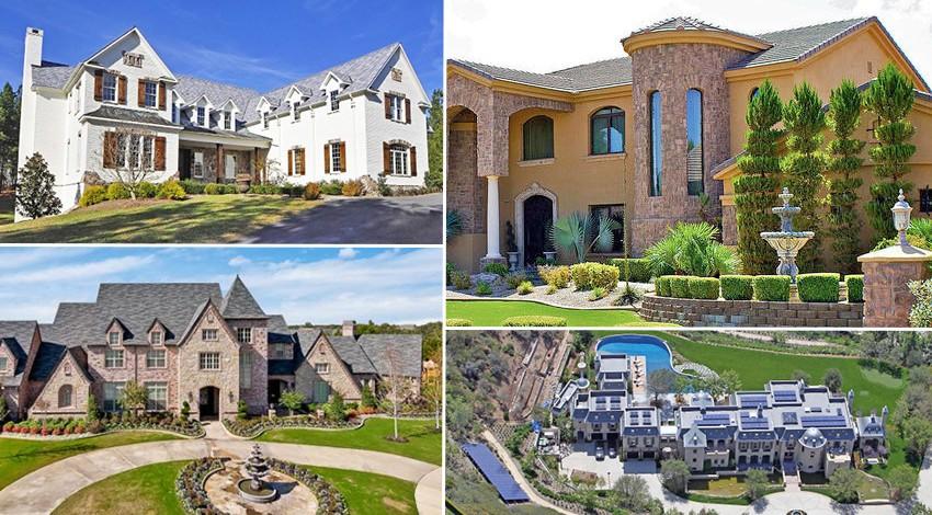 خانه های رویایی بازیکنان فوتبال در امریکا (عکس)