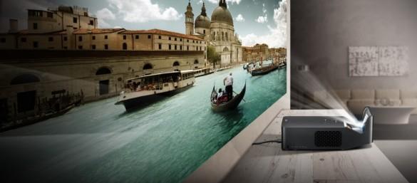 سینما حتی در کوچکترین اتاق با پروژکتور ال جی