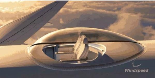 صندلی هایی که بالاتر از سطح هواپیما قرار می گیرند