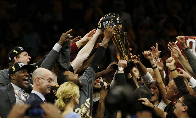 کلیولند با درخشش لبرون جیمز قهرمان NBA شد (+آمار بازی)