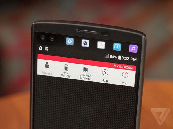 v10 پرچم دار جدید گوشیهای هوشمند الجی میتازد