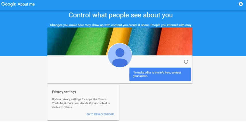 با قابلیت جدید About me گوگل آشنا شوید