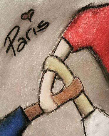 طرح هایی در واکنش به حوادث پاریس