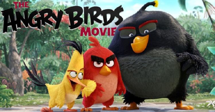 پرندگان خشمگین(Angry Birds) به دنبال رکوردشکنی در سینما
