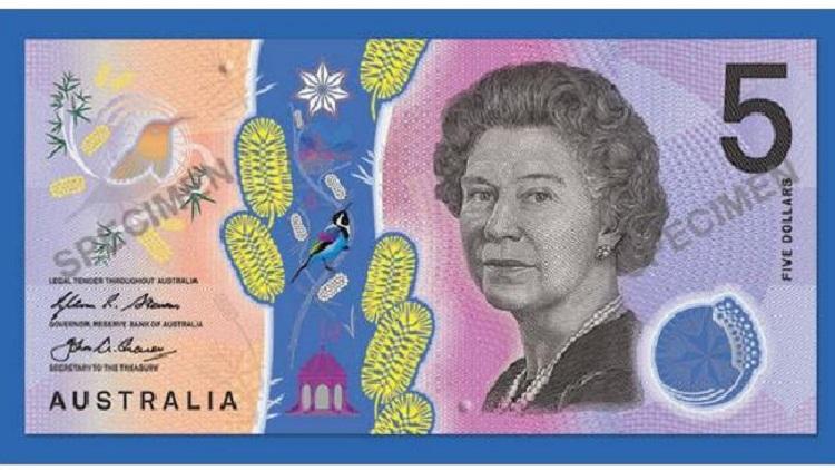 اسکناس 5 دلاری جدید استرالیا؛ یک اثر زیبای هنری غیرقابل جعل!