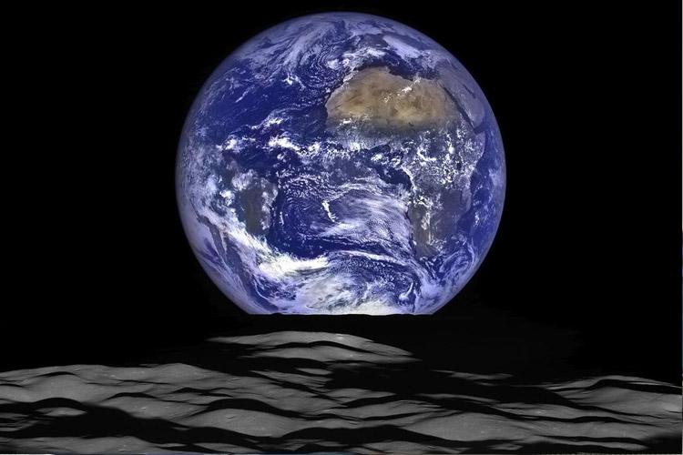 ناسا عکسهای جدید زمین را از سطح ماه منتشر کرد