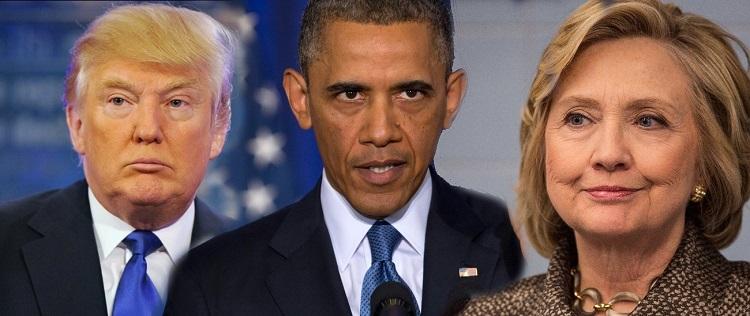 """ترامپ، سوژه خنده """"شام آخر"""" اوباما"""