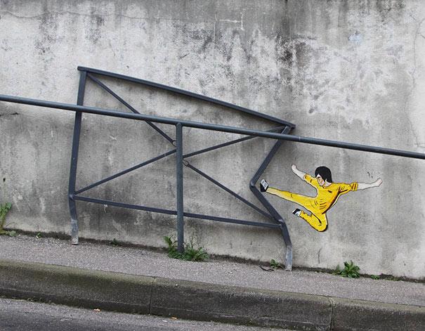 هنر جالب تخریبگران شهری