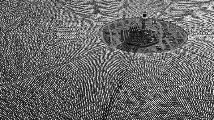 ساخت بزرگترین نیروگاه انرژی خورشیدی حهان در دبی