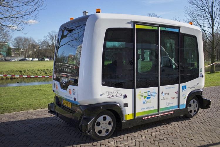 بکارگیری اتوبوسهای خودران در حمل و نقل عمومی شهر هلسینکی