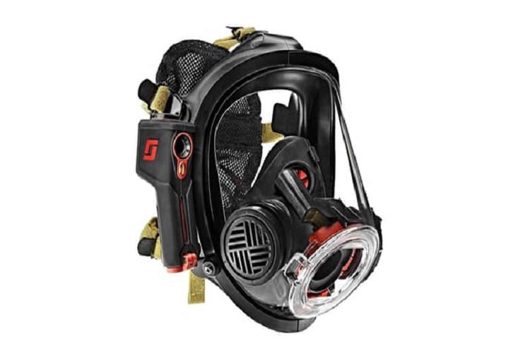 ماسکی برای آتشنشان ها با قابلیت دید حرارتی