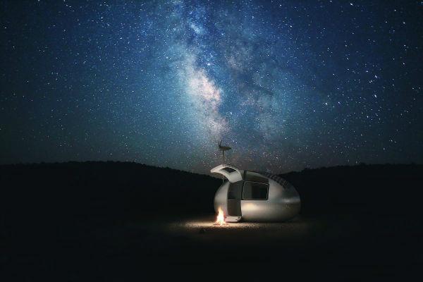 اکو کپسول خانهای برای محیط زیست