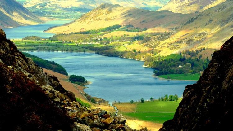 زیبایی خیرهکننده دشتهای شمال غرب انگلستان