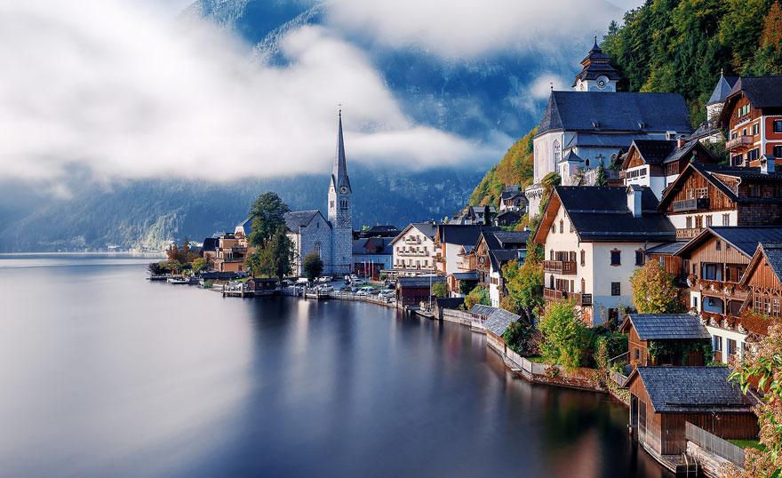 روستاهایی که خیره کنندهترین مناظر را دارند