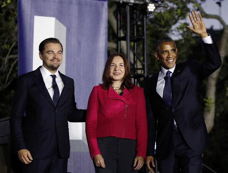 انتقادات شدید دیکاپریو از اوباما در یک نشست رو در رو