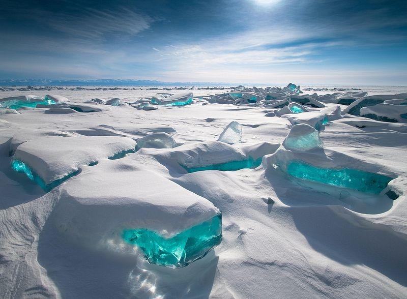 تصاویر خیرهکنندهای از بایکال بزرگترین دریاچه آب شیرین جهان