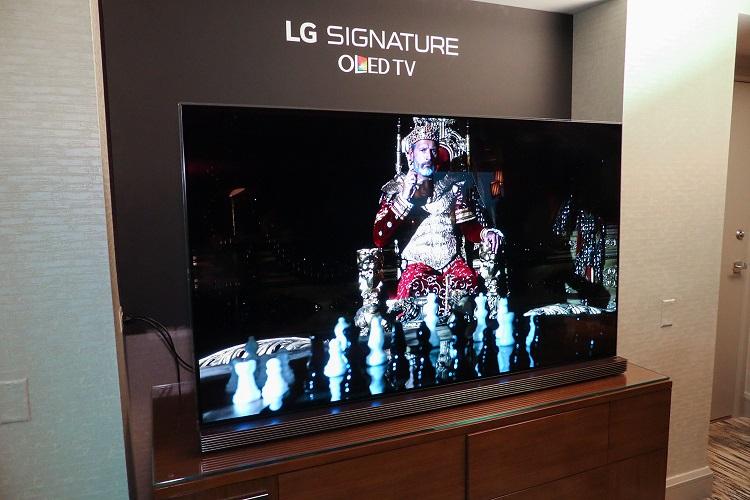 تاج پادشاهی تلویزیون ها بر سر تلویزیون  SIGNATURE G6 OLED ال جی