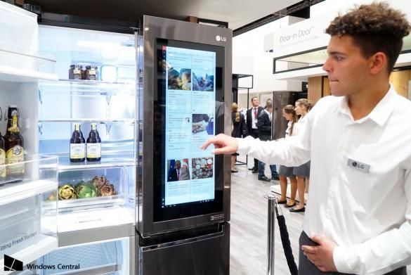 خلاصی از حساسیتهای غذایی با یخچال هوشمند InstaView الجی