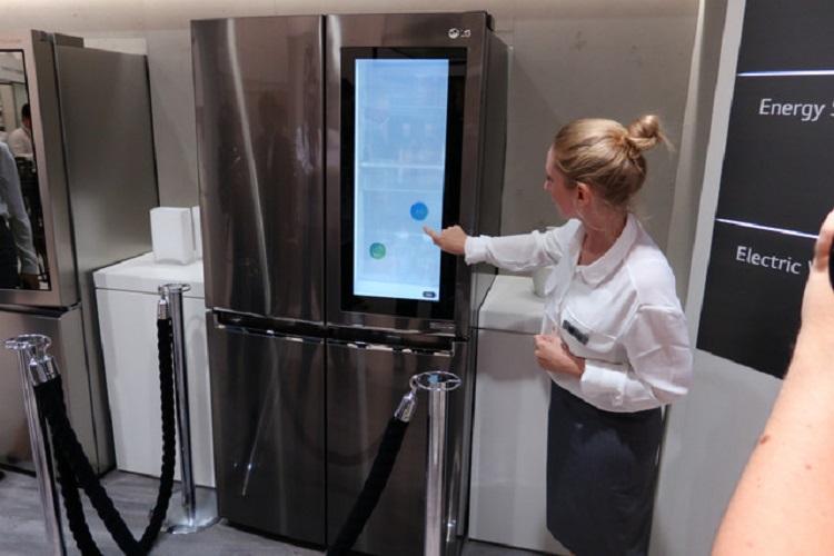 یخچال هوشمند InstaView الجی، مجهز به ویندوز 10