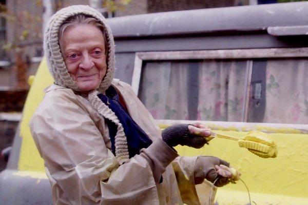 مگی اسمیت با lady in the van بازمی گردد